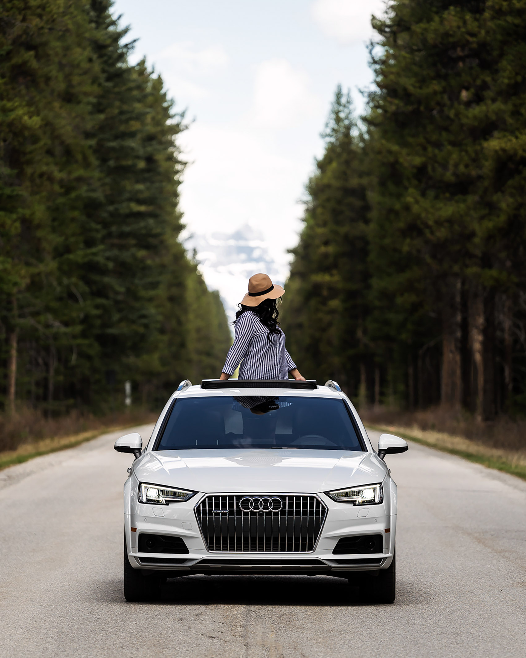 Audi All Road Audi Canada Karl Lee Photography Alberta Banff National Park