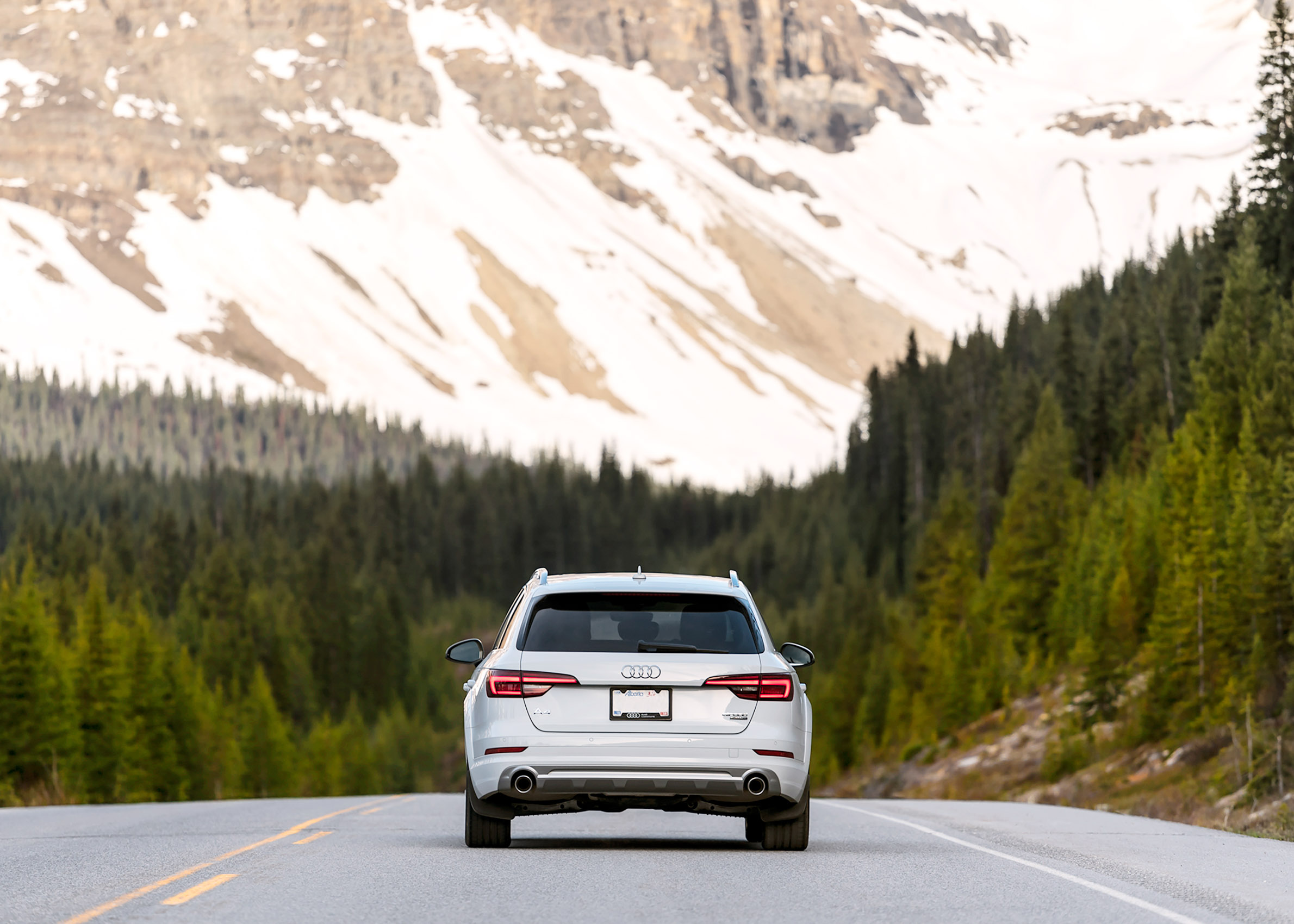 Audi All Road Audi Canada Karl Lee Photography Alberta Canada Banff National Park