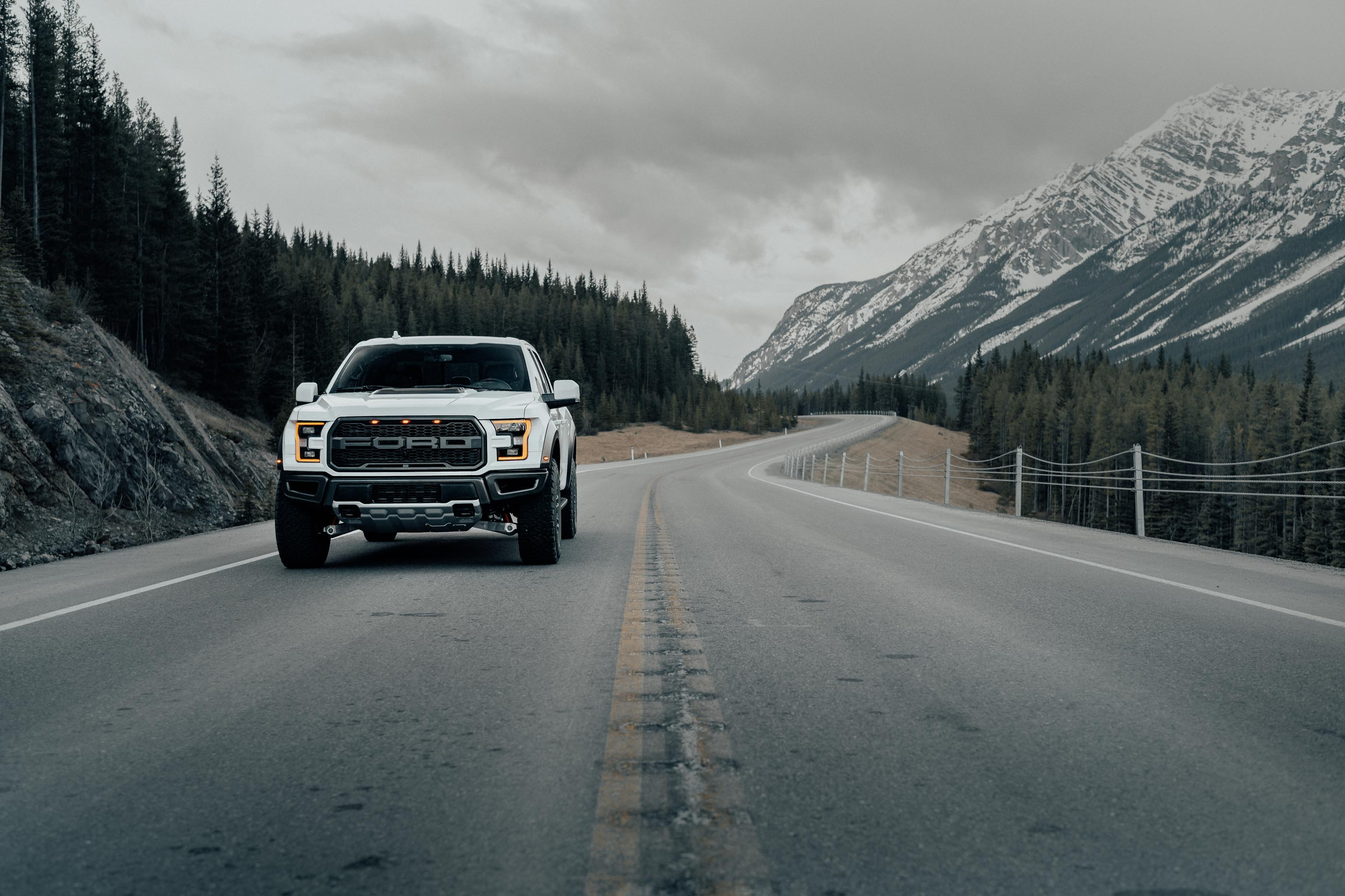 Karl Lee Photography Ford Raptor Kananaskis