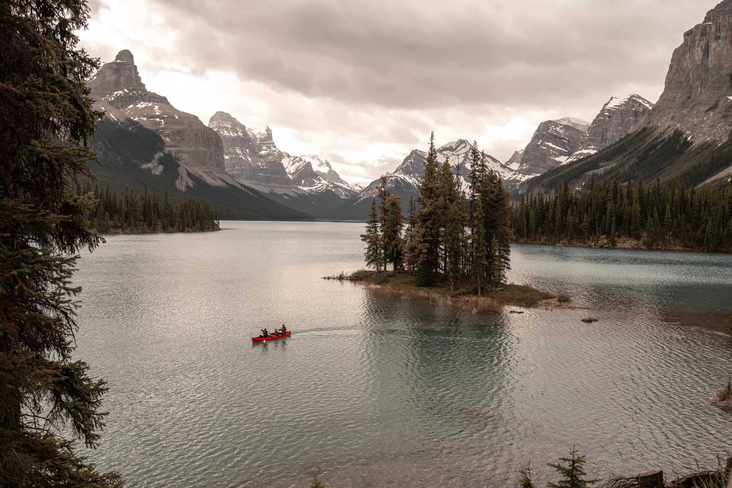 Spirit Island Maligne Lake Jasper Karl Lee Photography Alberta Canada